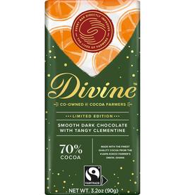 Divine Chocolate Divine Dark Chocolate with Clementine Orange