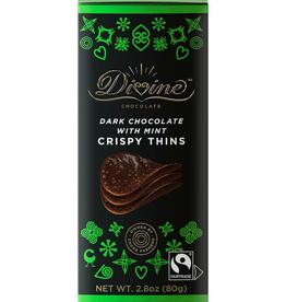 Divine Chocolate Divine Chocolate Crispy Mint Thins