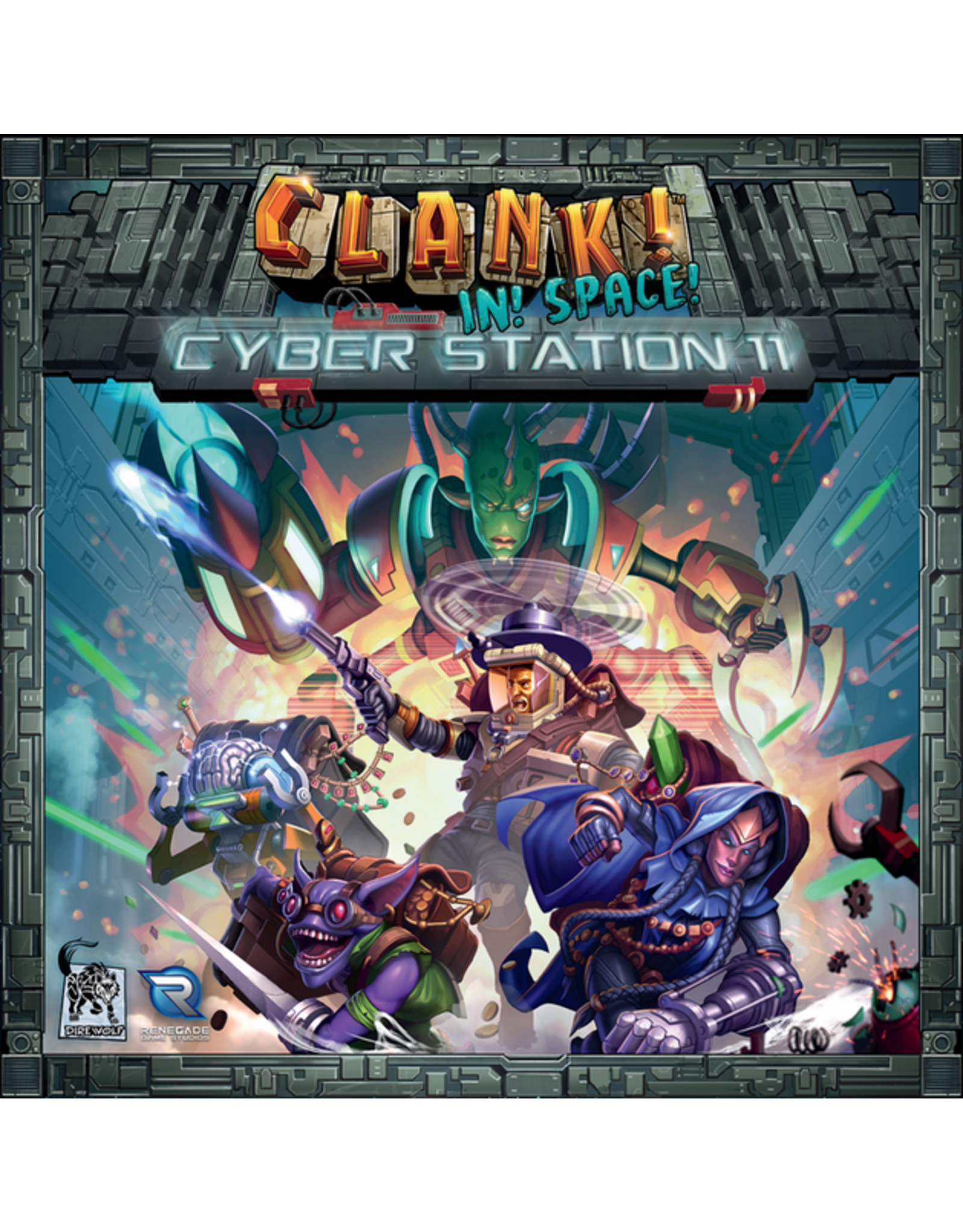 Renegade Games Studios Clank! In! Space! Cyber Station 11 Expansion