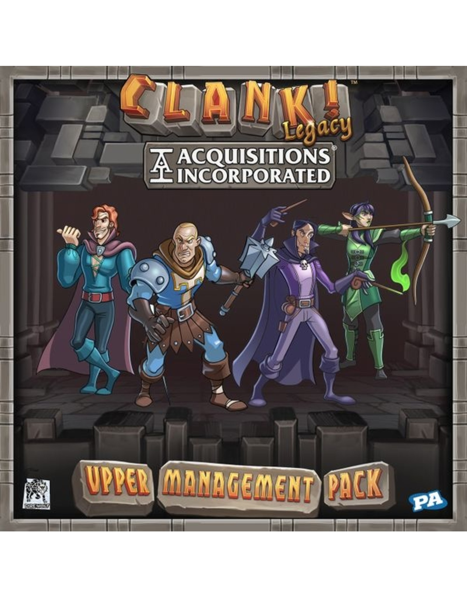 Renegade Games Studios CLANK!: Legacy: Acquisitions Inc - Upper Management Pack