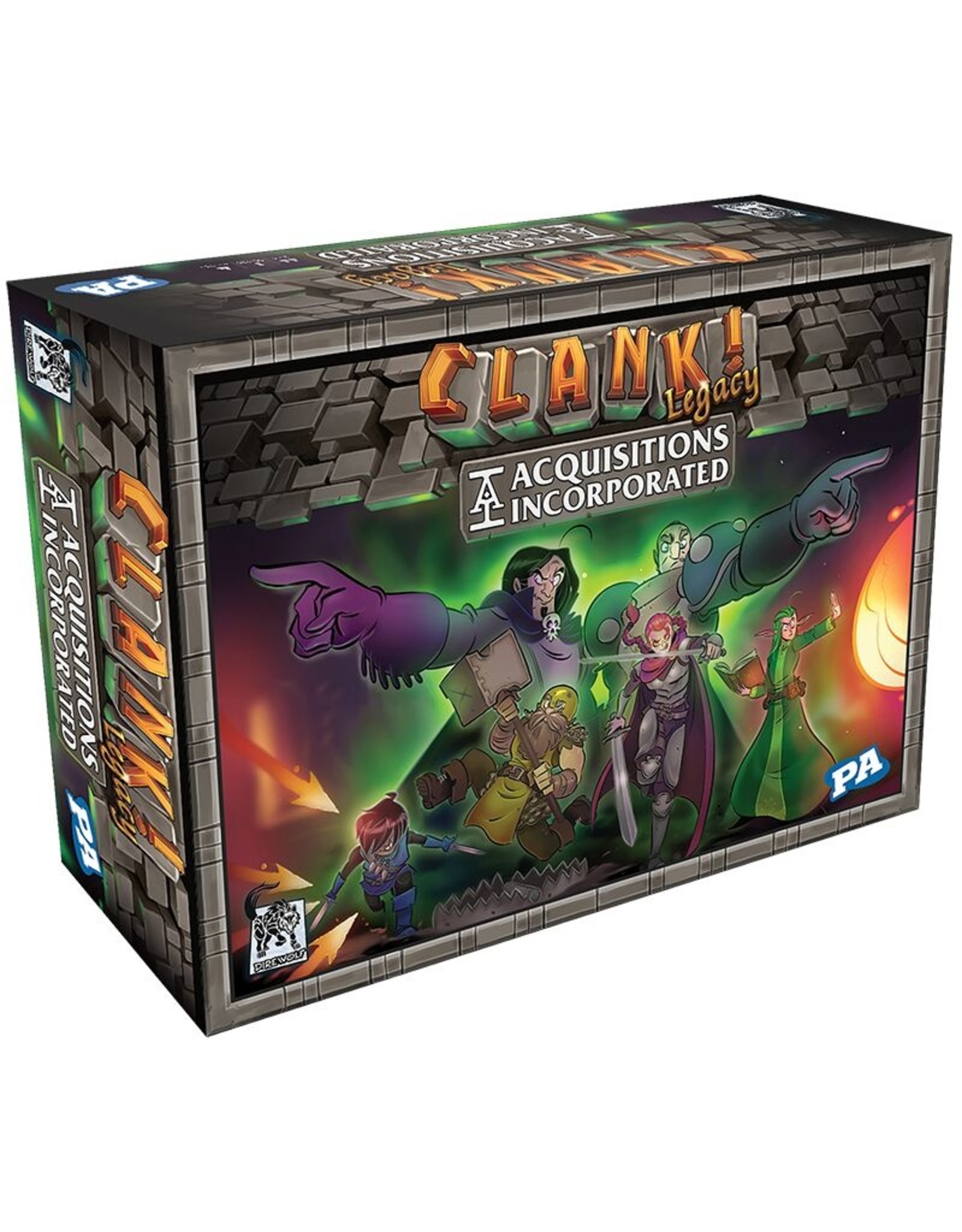 Renegade Games Studios Clank! Legacy: Acquisitions Incorporated