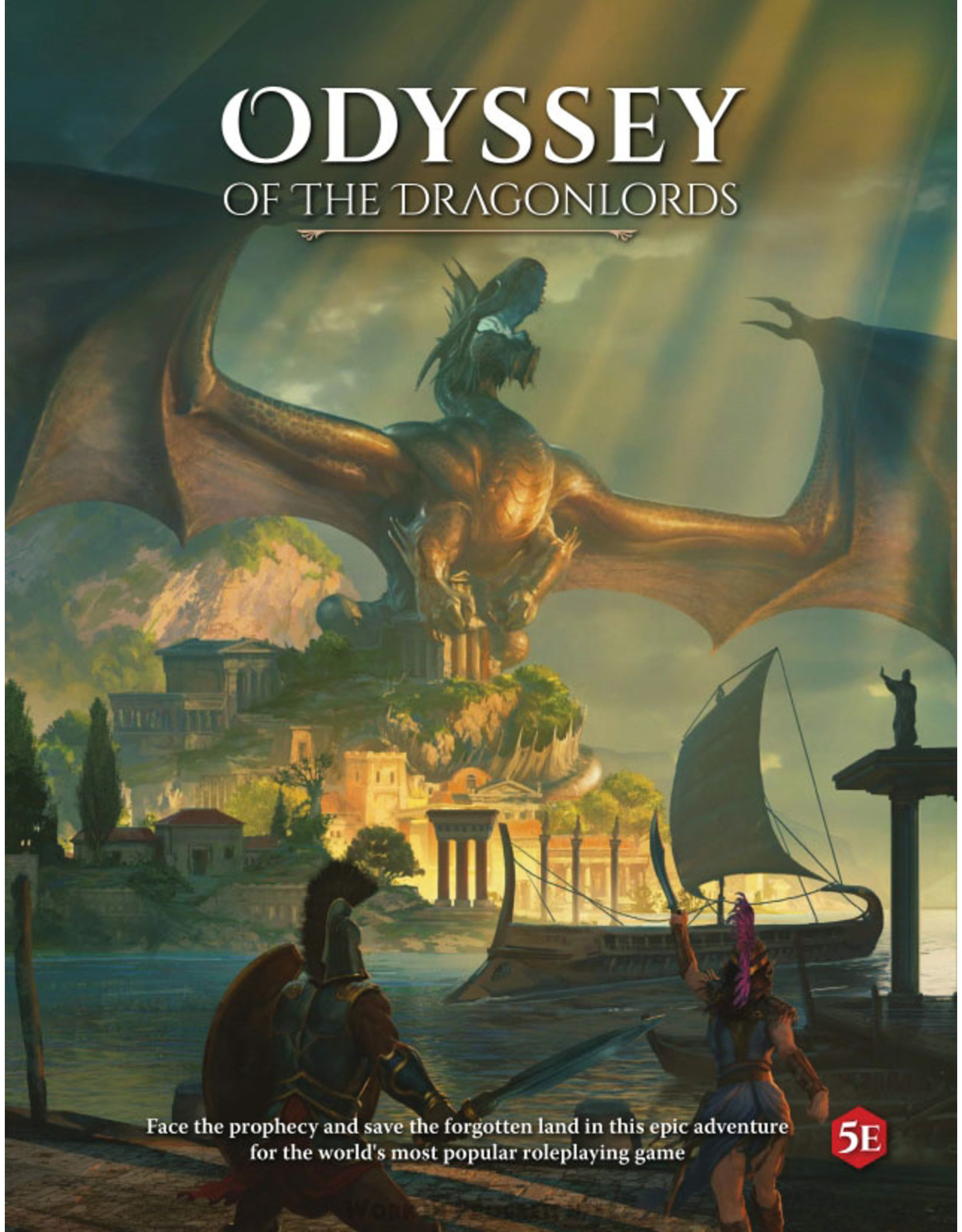 Role Playing 5E: Odyssey of the Dragonlords: RPG Corebook