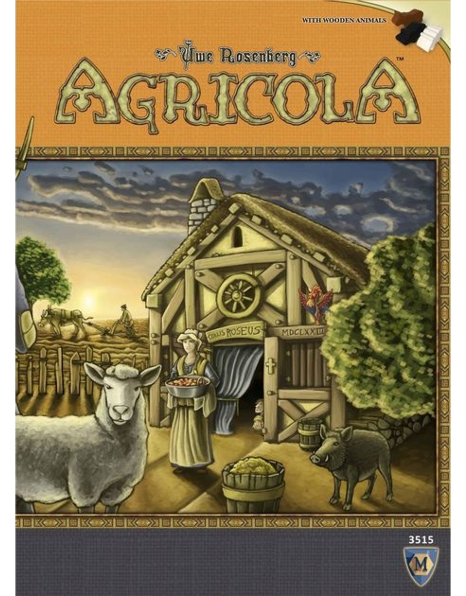 Mayfair Games Agricola Revised Edition