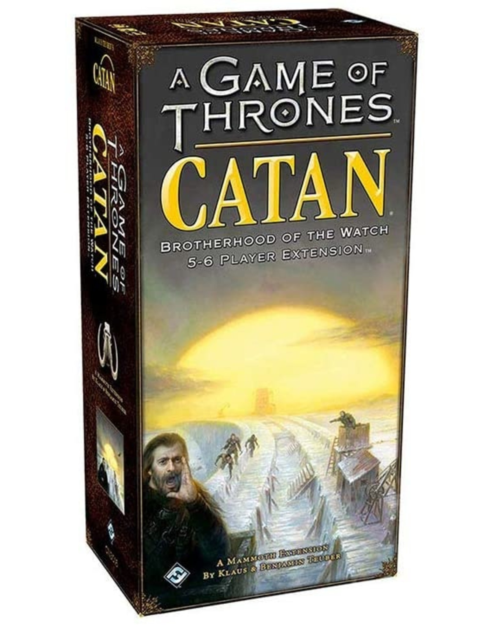 Mayfair Games A Game of Thrones Catan: Brotherhood of the Watch 5-6 Player Expansion