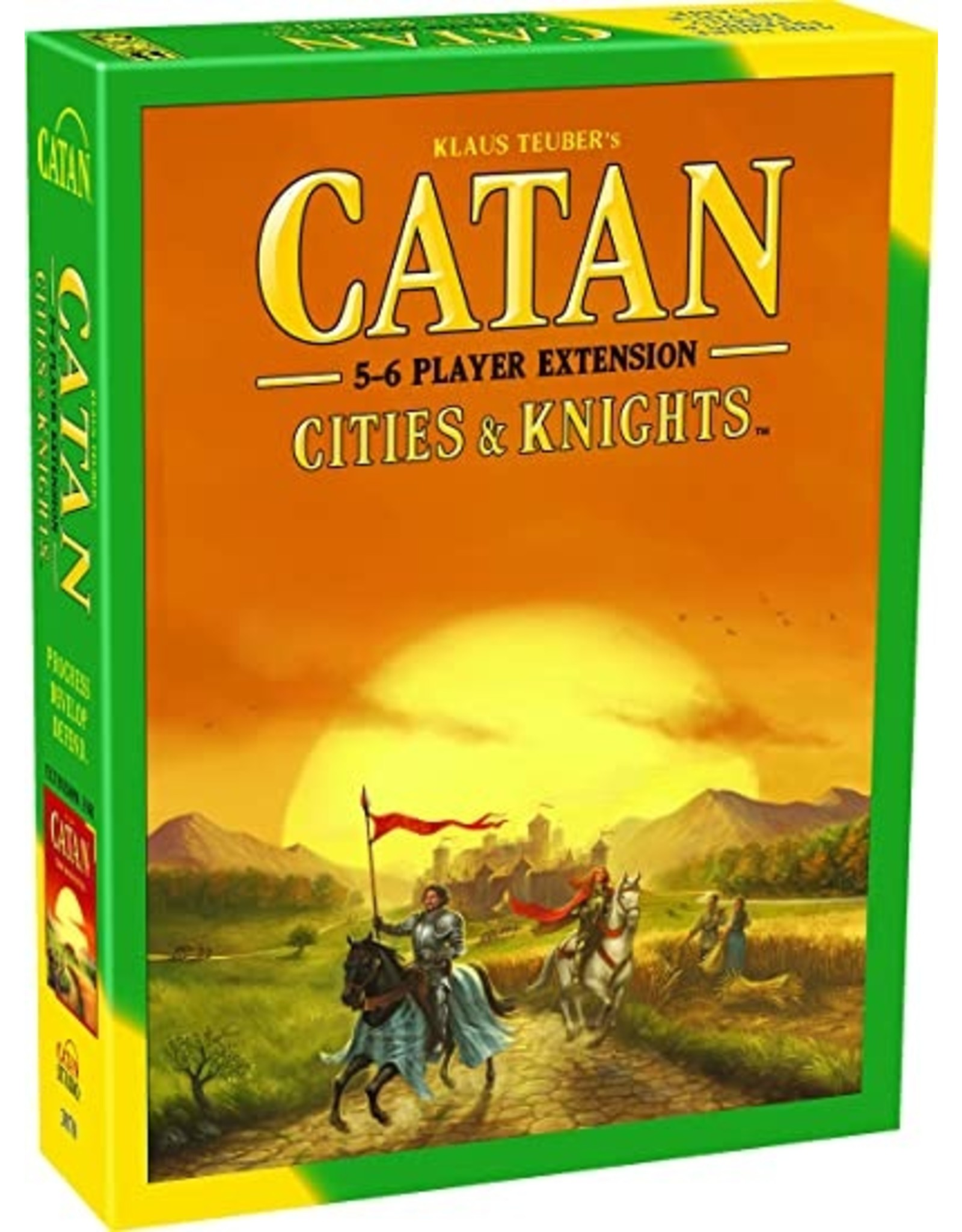 Catan Studios Catan Cities and Knights 5-6 player expansion