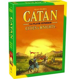 Asmodee Catan Cities and Knights 5-6 player expansion