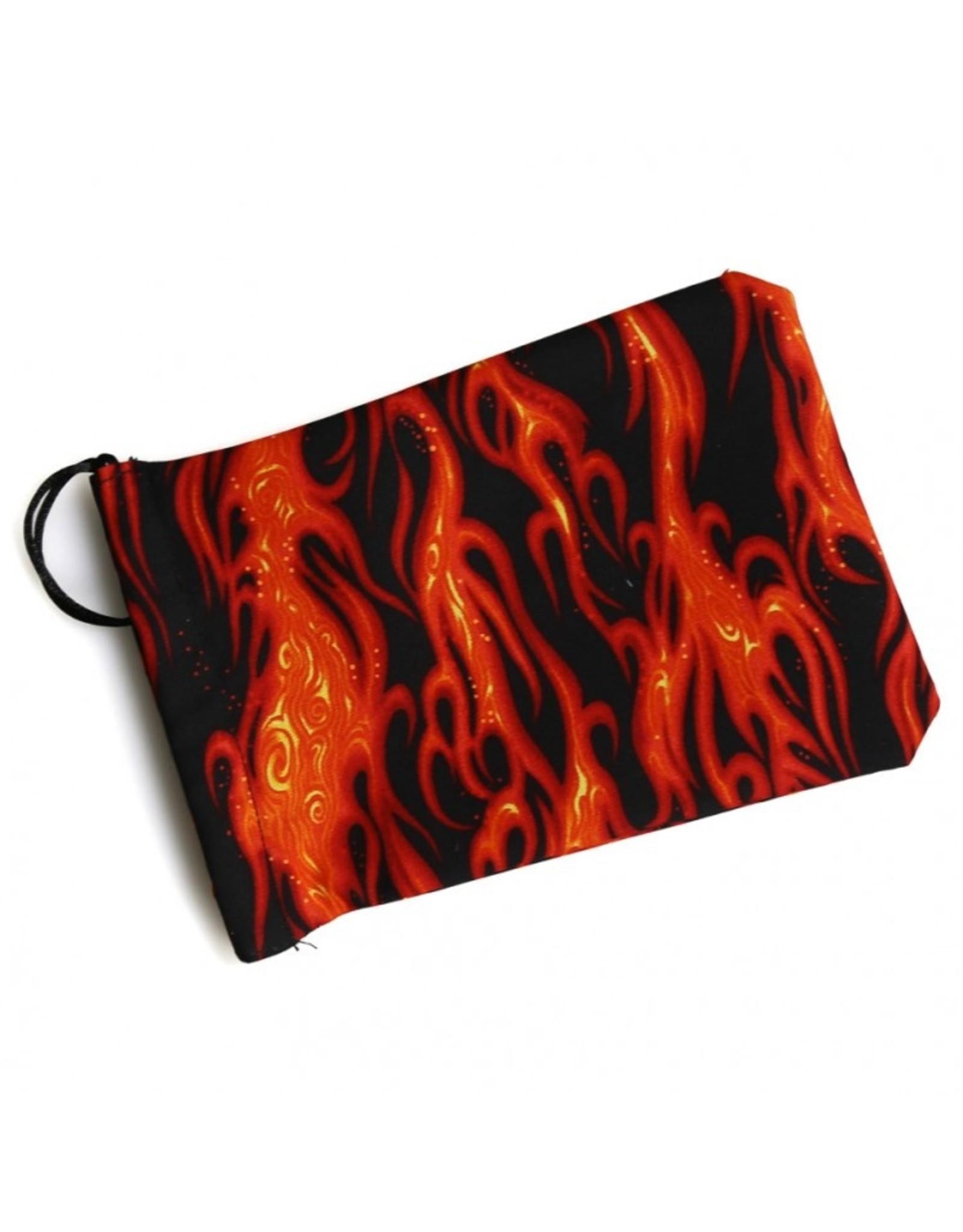 Dice Dice Bag: Black Flame 2