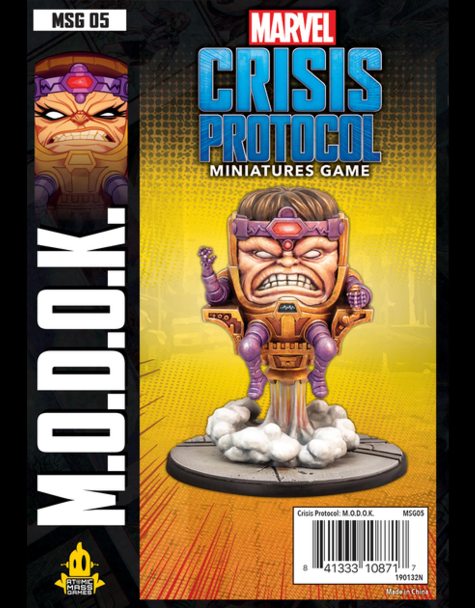 Asmodee Marvel: Crisis Protocol - M.O.D.O.K. Character Pack
