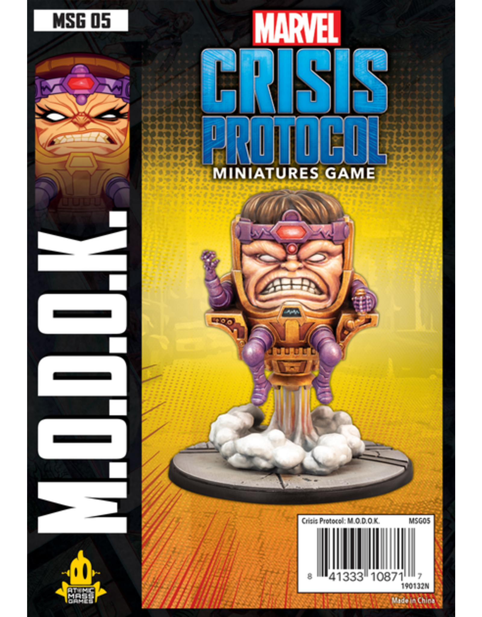 Atomic Mass Games Marvel: Crisis Protocol - M.O.D.O.K. Character Pack
