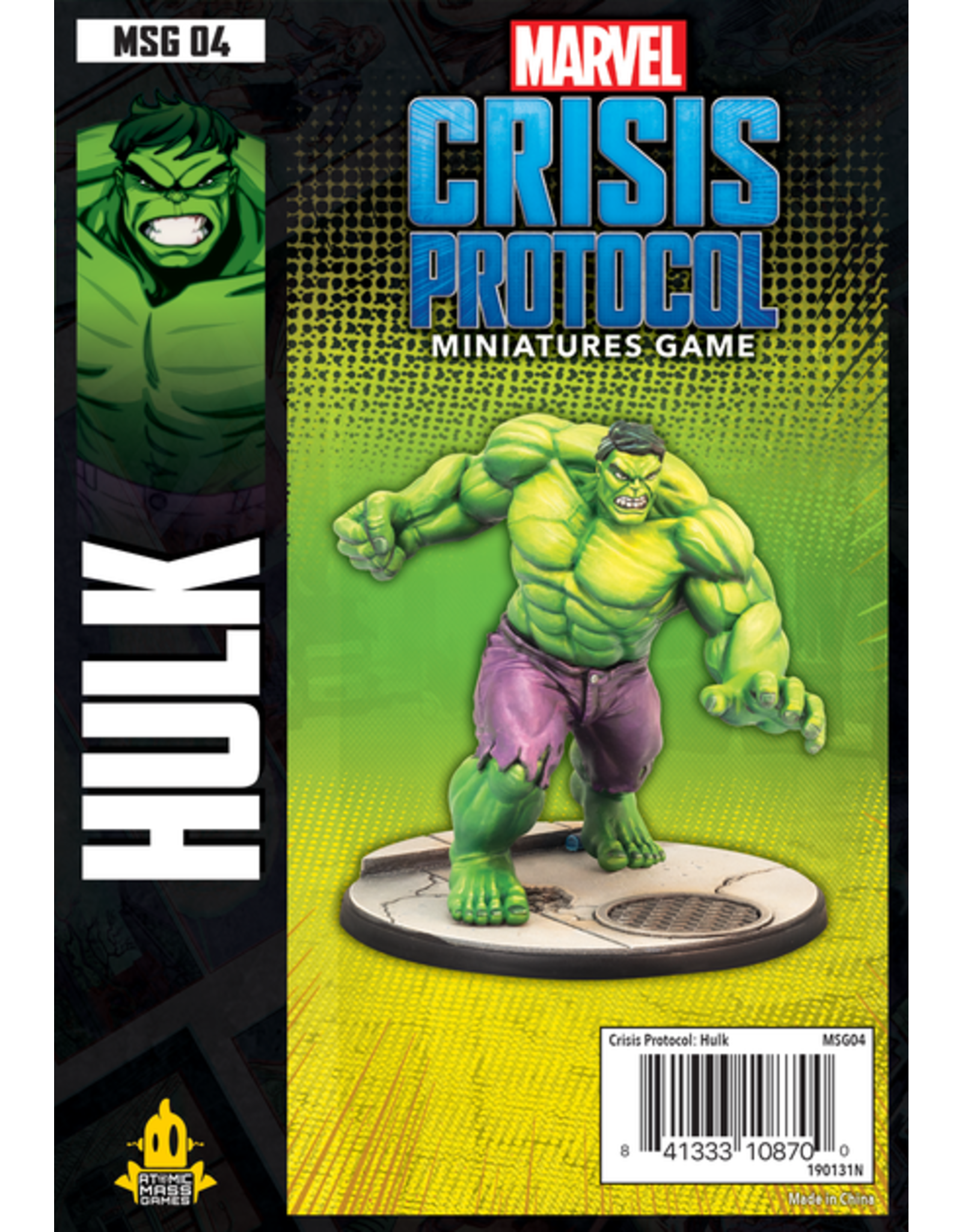 Atomic Mass Games Marvel: Crisis Protocol - Hulk Character Pack