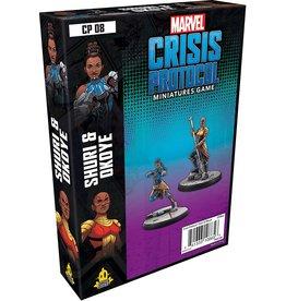 Asmodee Marvel: Crisis Protocol - Shuri and Okoye Character Pack