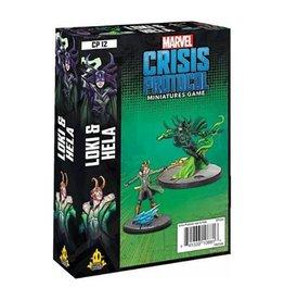 Asmodee Marvel: Crisis Protocol - Loki and Hela Character Pack