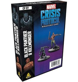Asmodee Marvel: Crisis Protocol - Black Panther and Killmonger Character Pack