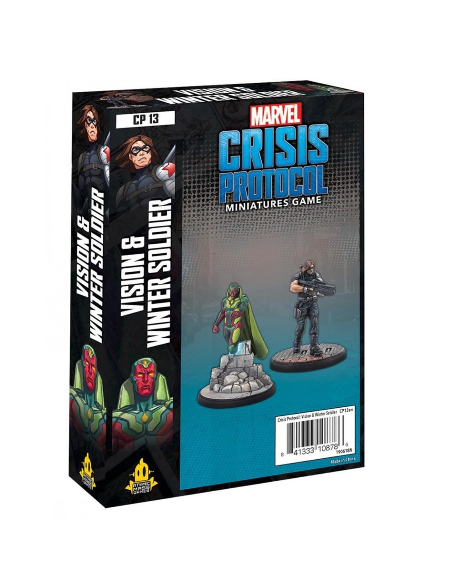 Asmodee Marvel: Crisis Protocol - Vision and Winter Soldier Character Pack