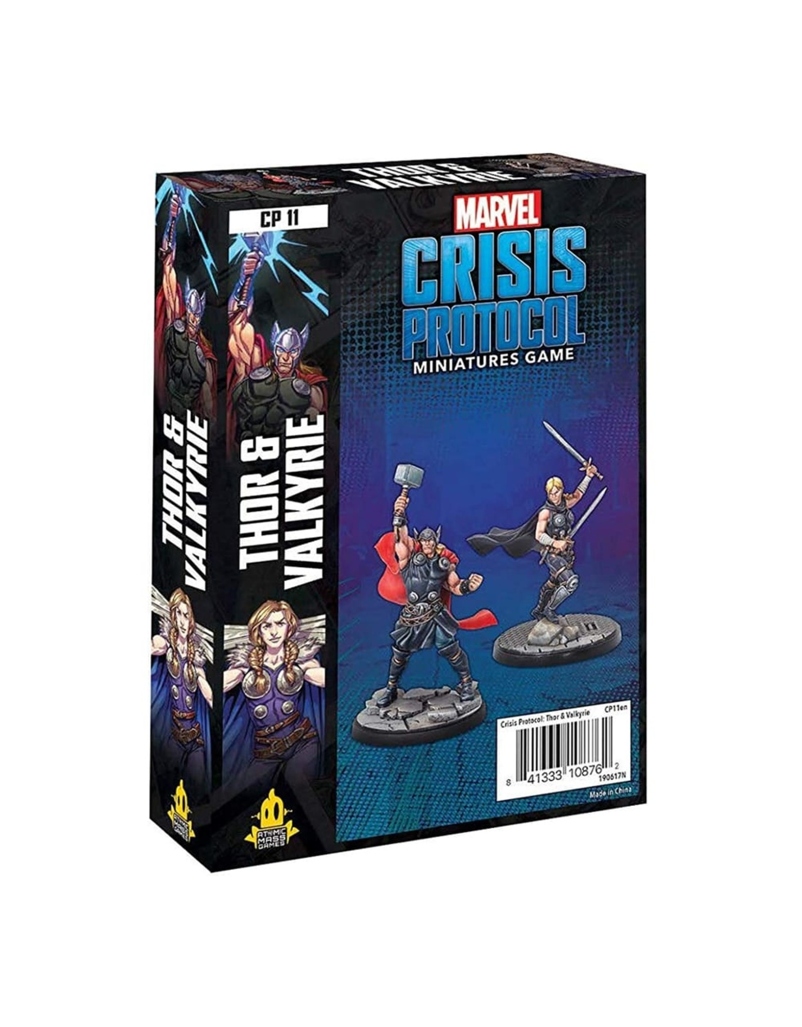 Asmodee Marvel: Crisis Protocol - Thor and Valkyrie Character Pack
