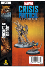 Asmodee Marvel: Crisis Protocol - Rocket and Groot Character Pack