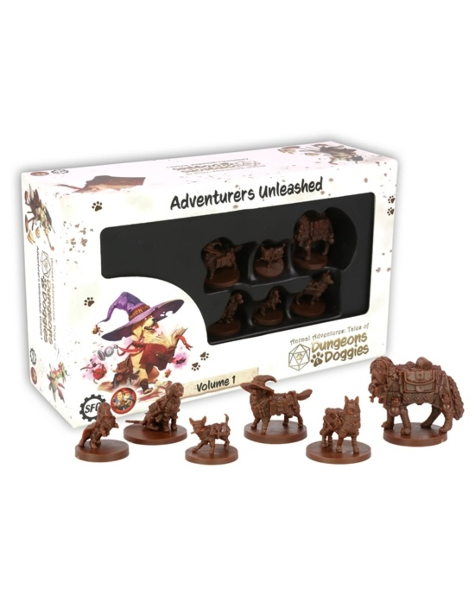 Steamforged Games D&D: Dungeons and Doggies: Box 1