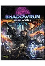 Role Playing Shadowrun RPG: 6th Edition Core Rulebook