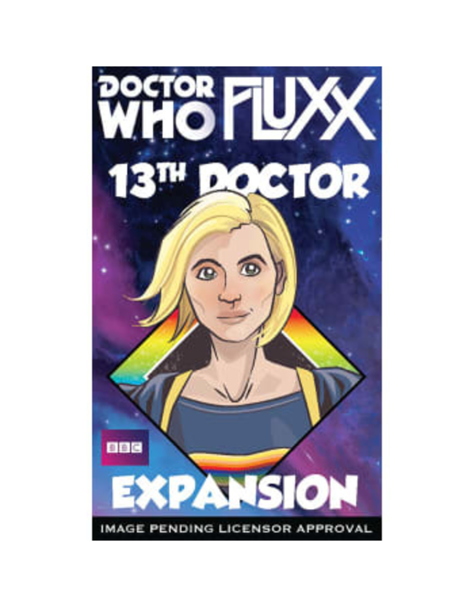 Looney Labs Doctor Who Fluxx 13th Doctor Expansion