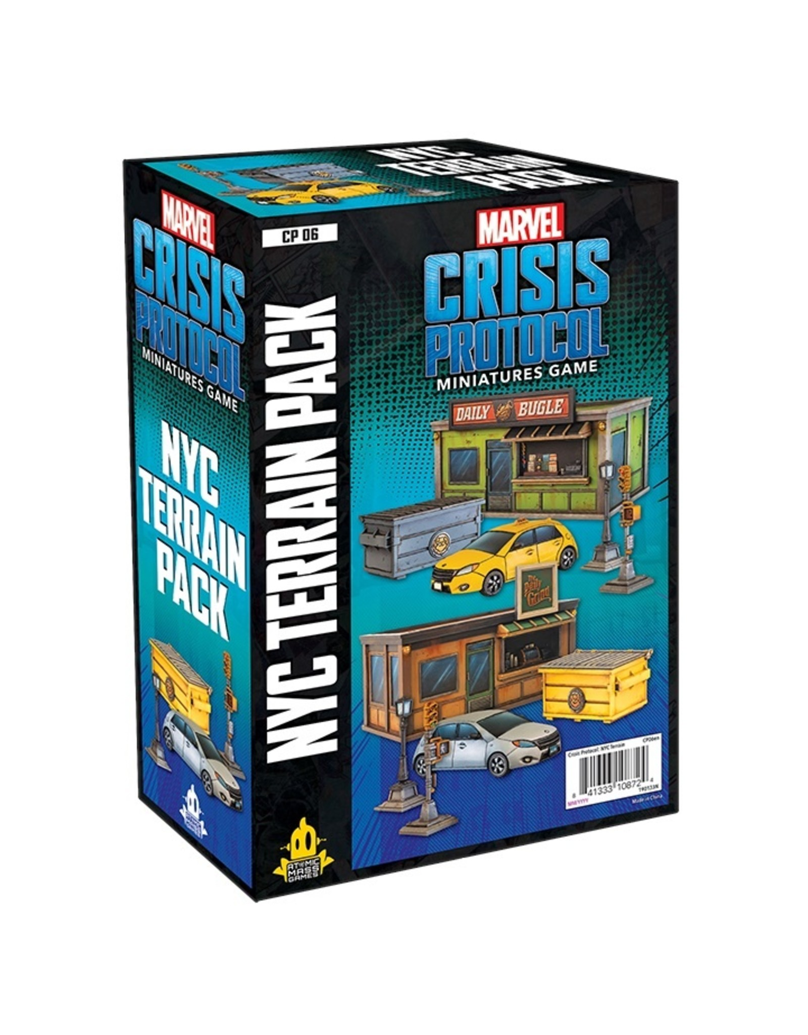 Asmodee Marvel: Crisis Protocol - NYC Terrain Pack