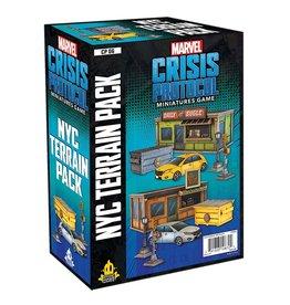 Asmodee Marvel: Crisis Protocol - NYC Terrain Pack