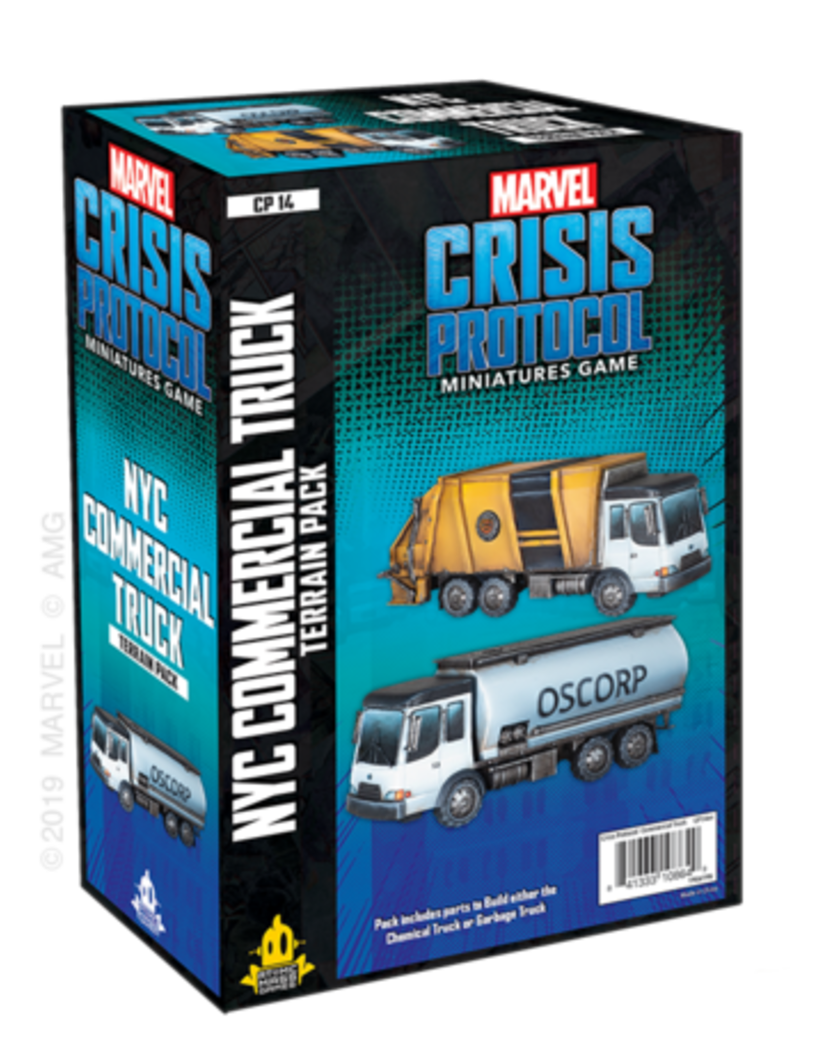 Asmodee Marvel: Crisis Protocol - NYC Commercial Truck Terrain Pack