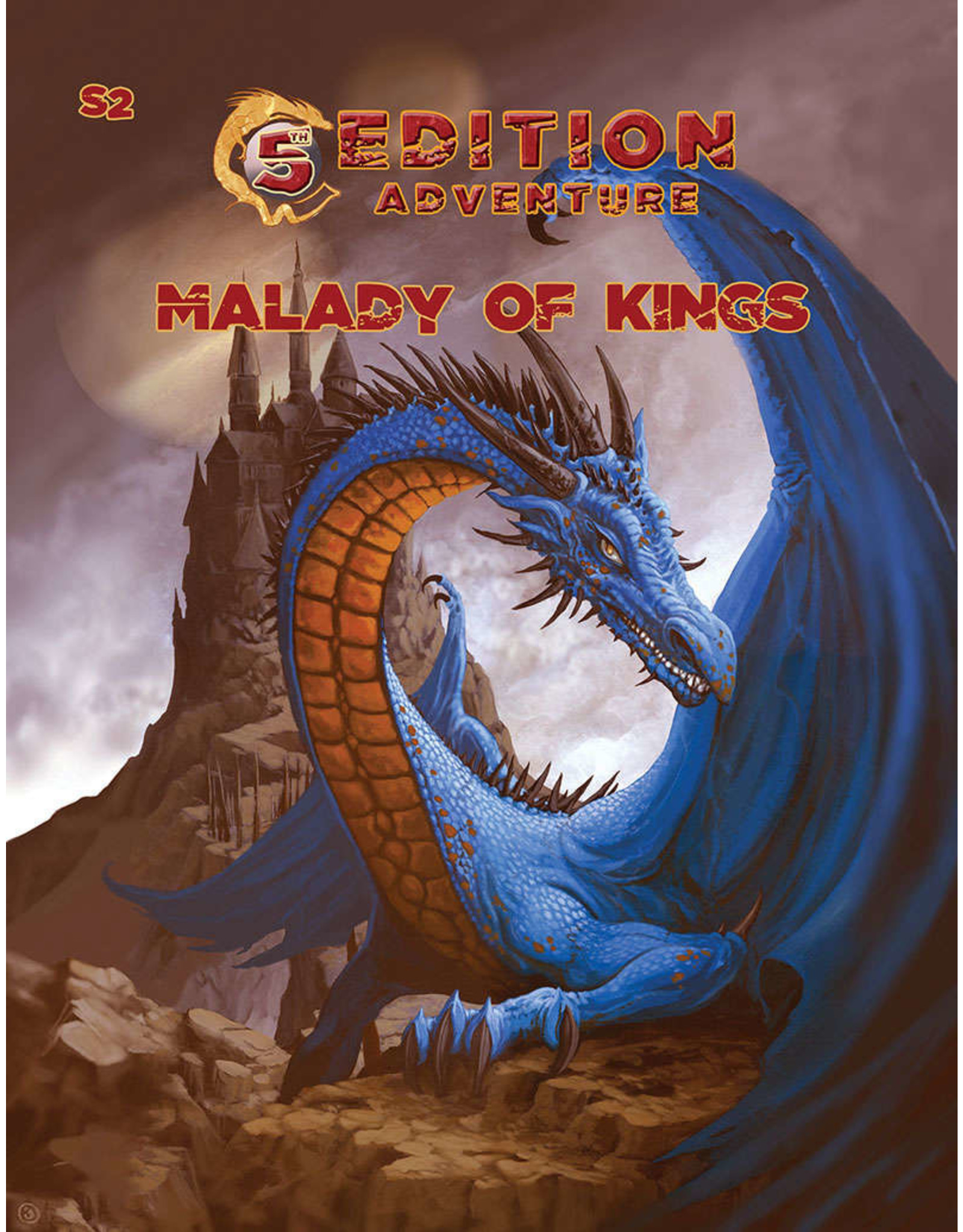 Troll Lord Games 5E: Adv.: S2 The Malady of Kings