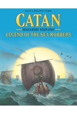 Asmodee Catan: Legend of the Sea Robbers Expansion