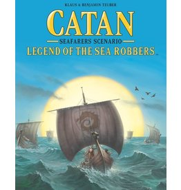 Catan Studios Catan: Legend of the Sea Robbers Expansion