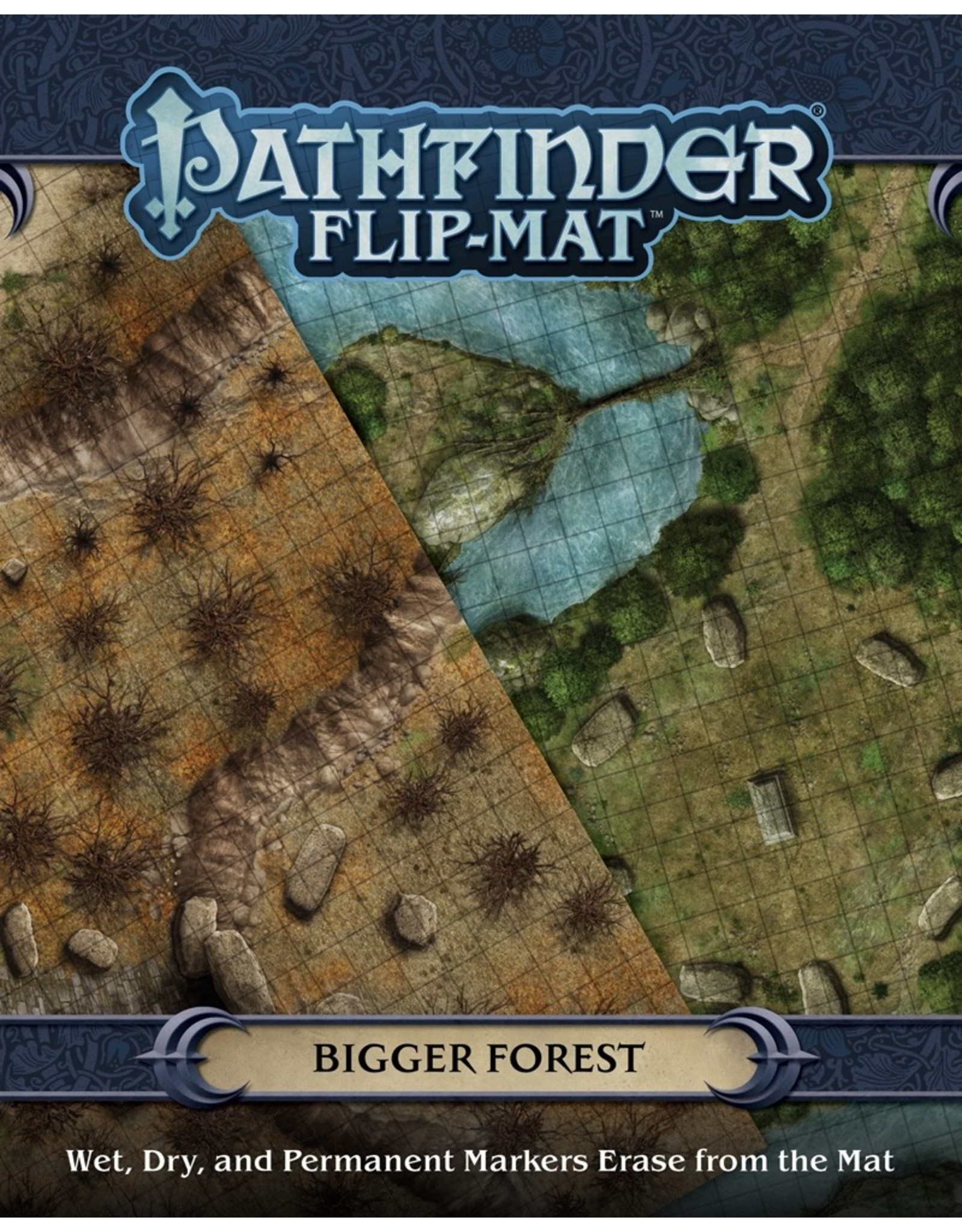Paizo Publishing PF Flip-Mat: Bigger Forest
