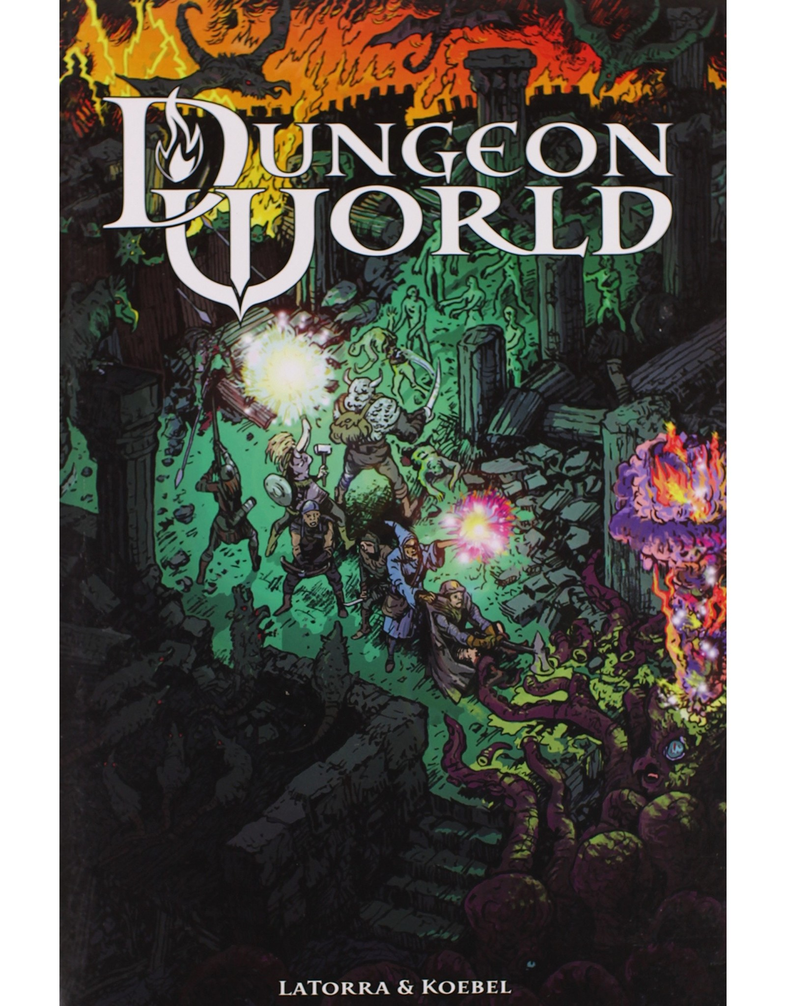 Role Playing Dungeon World