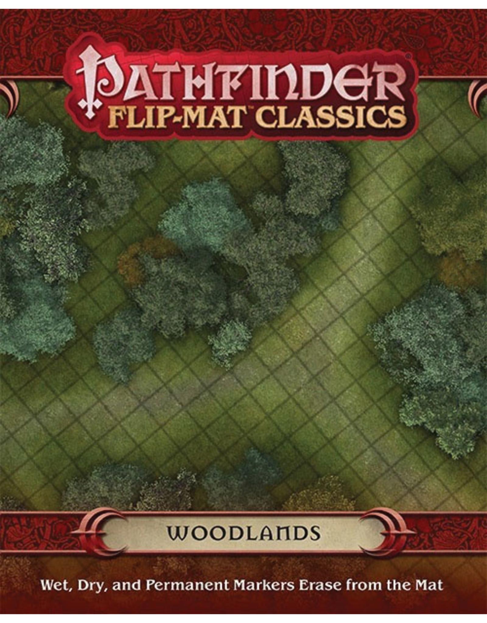 Paizo Publishing Pathfinder RPG: Flip-Mat Classics - Woodlands