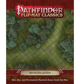 Paizo Publishing Pathfinder RPG: Flip-Mat Classics - Woodlands