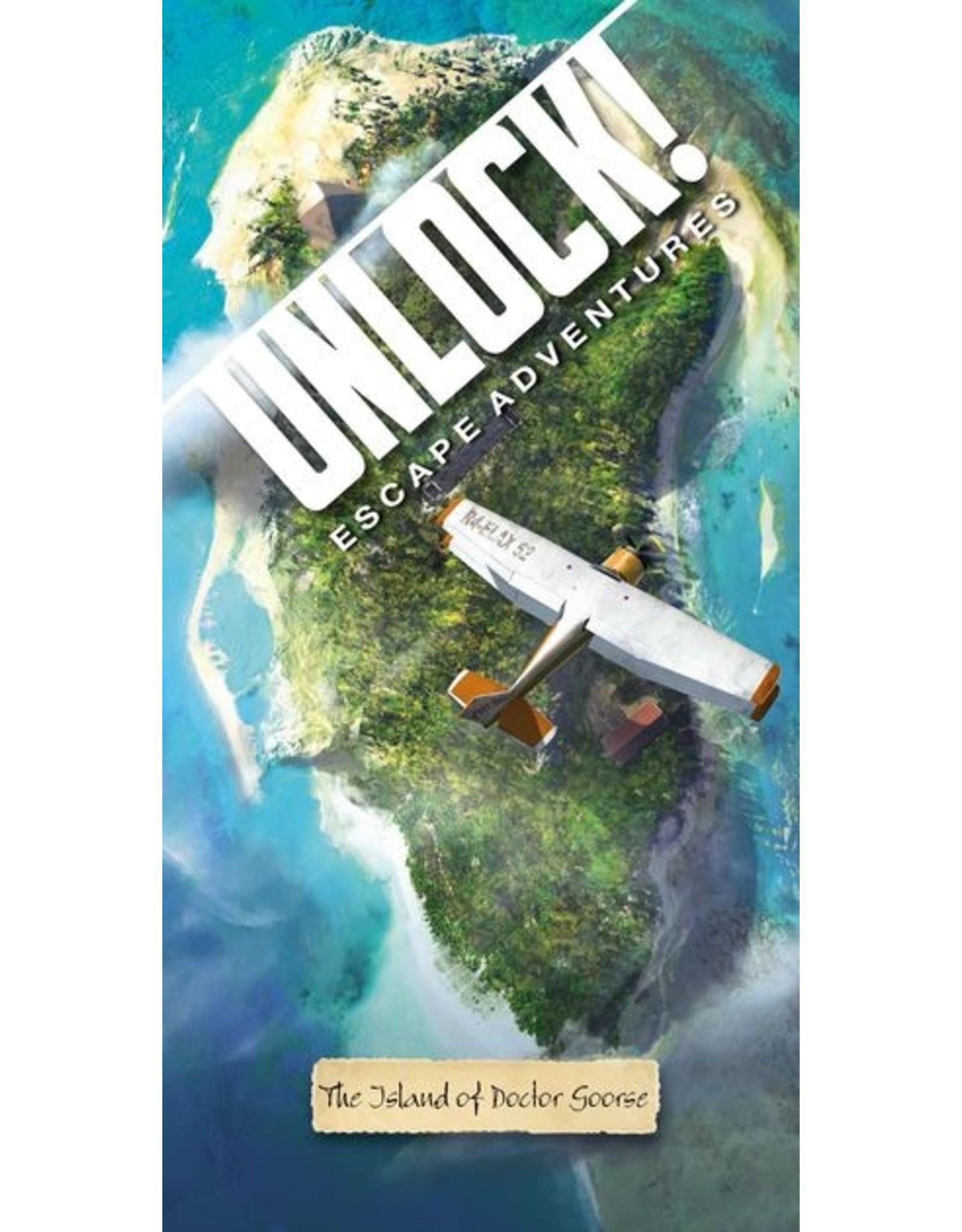 Asmodee Unlock!: The Island of Doctor Goorse