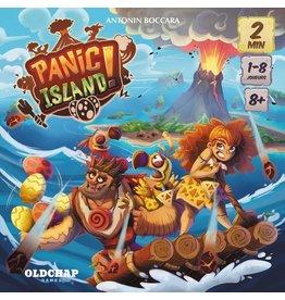 Blue Orange Panic Island