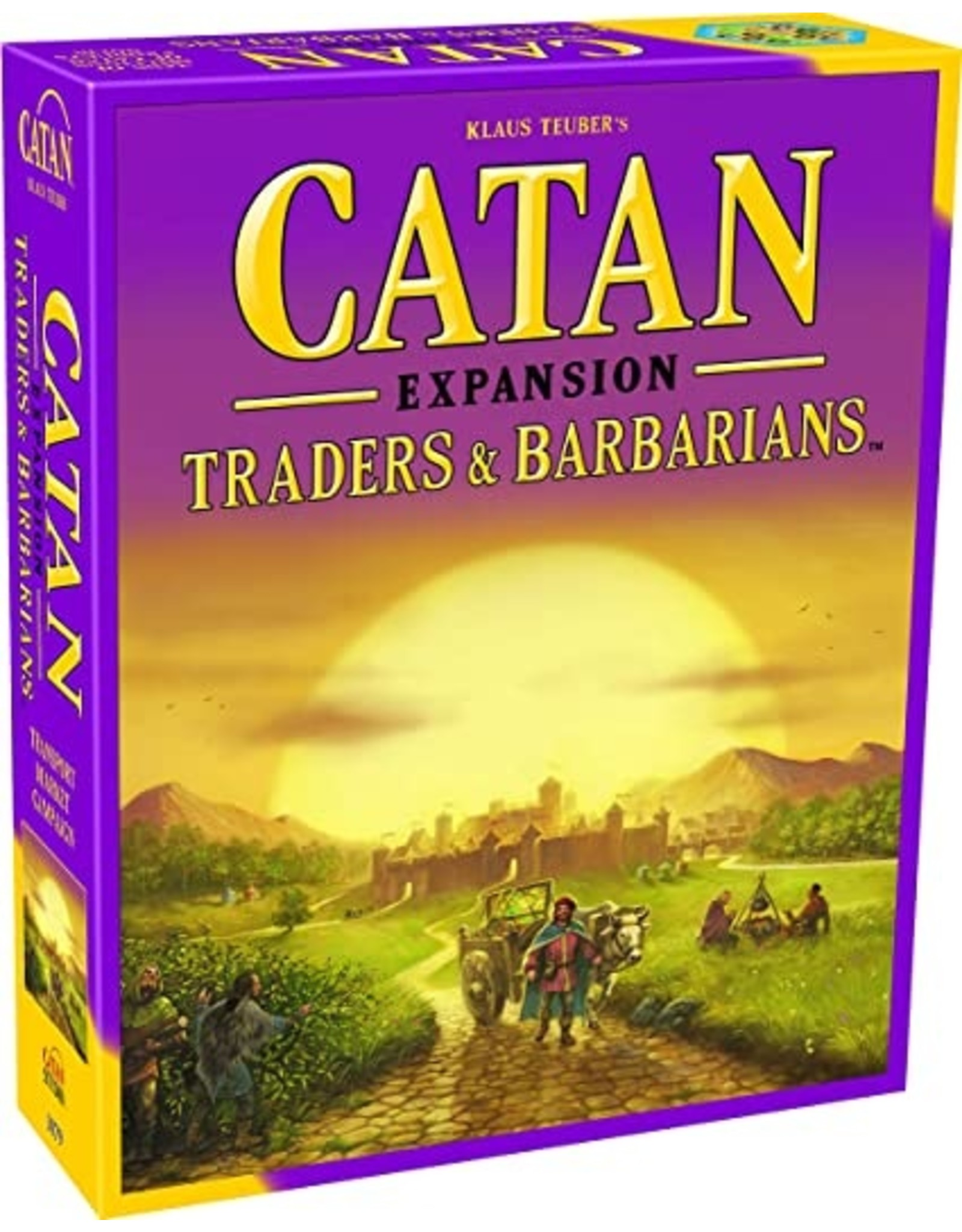 Catan Studios Catan Traders and Barbarians