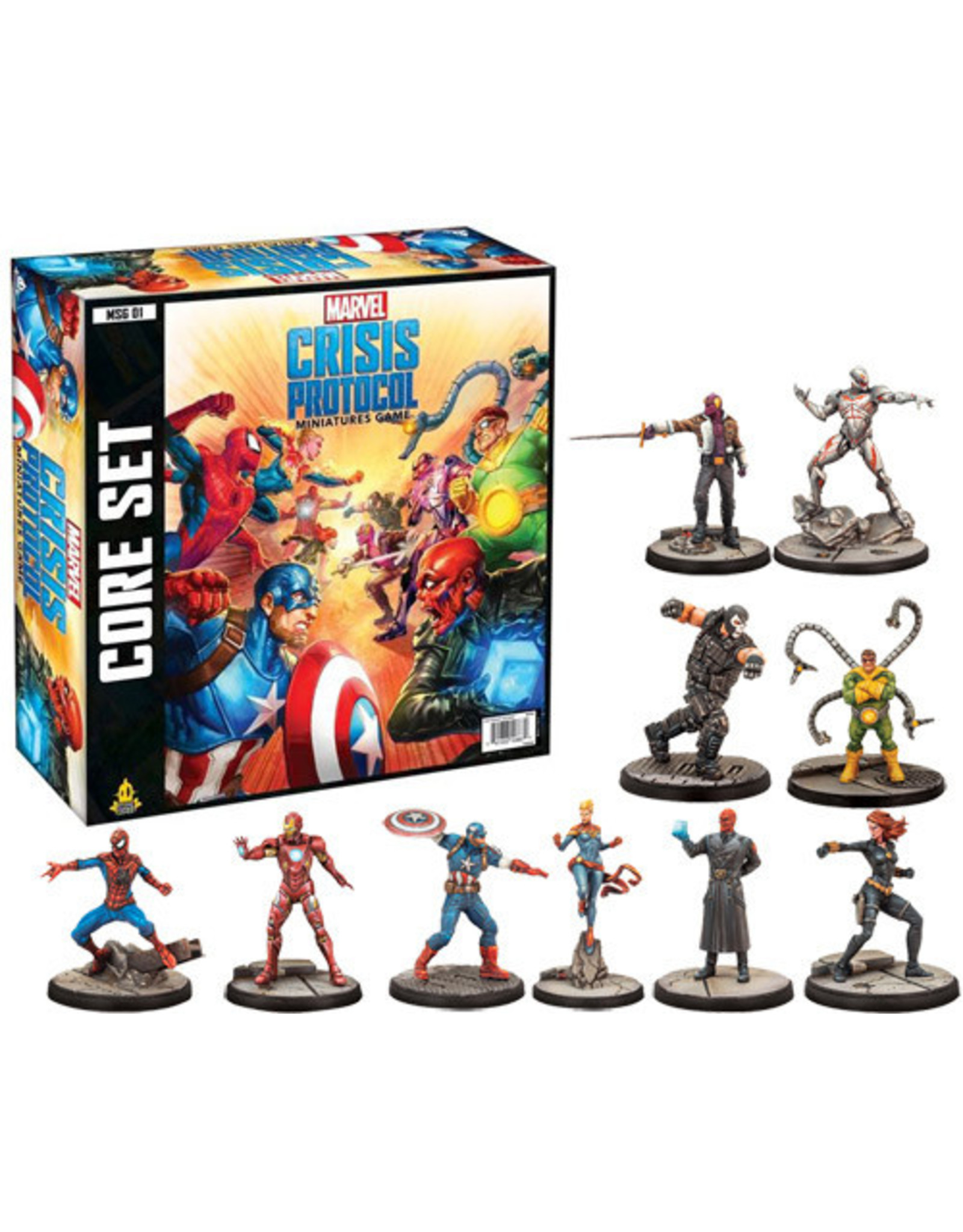 Asmodee Marvel: Crisis Protocol - Core Set
