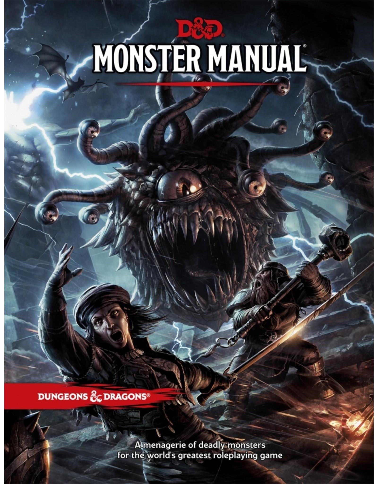 Dungeons & Dragons D&D 5E: Monster Manual