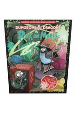 Dungeons & Dragons Dungeons & Dragons vs. Rick and Morty - Tabletop RPG