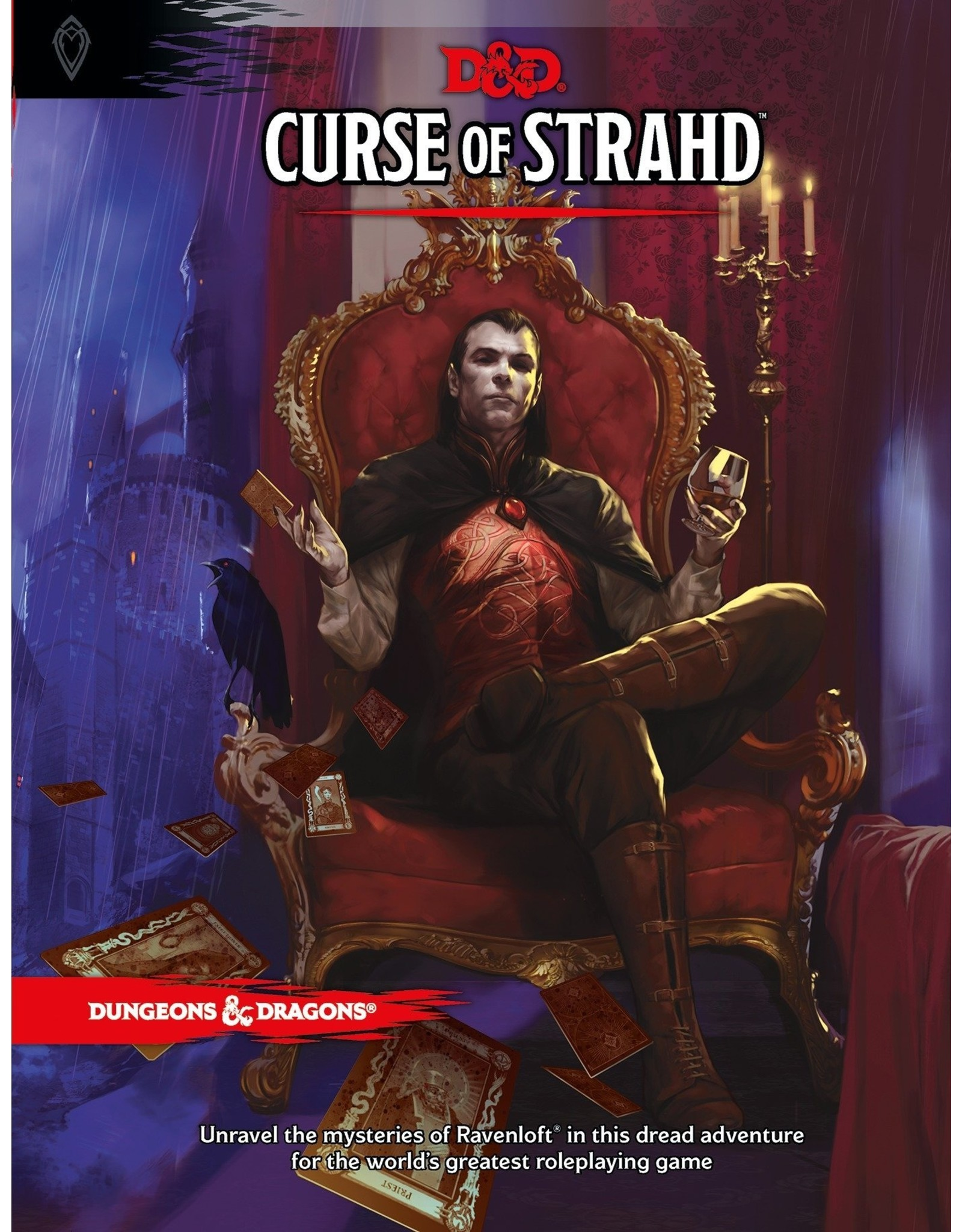 Dungeons & Dragons D&D 5E: Curse of Strahd