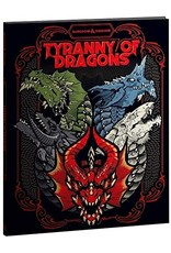 Dungeons & Dragons D&D RPG: Tyranny of Dragons (Alternate Cover)