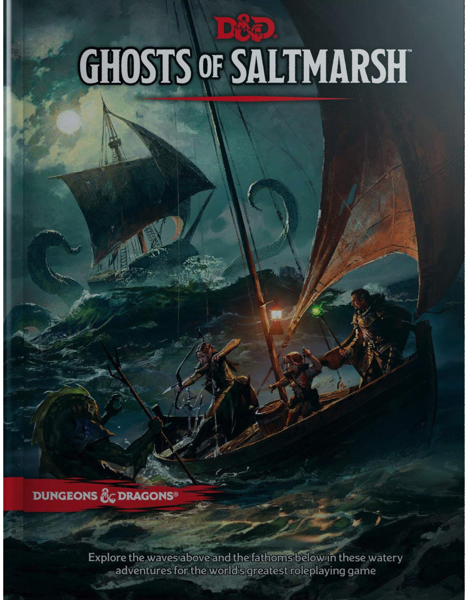 Dungeons & Dragons D&D 5E: Ghosts of Saltmarsh