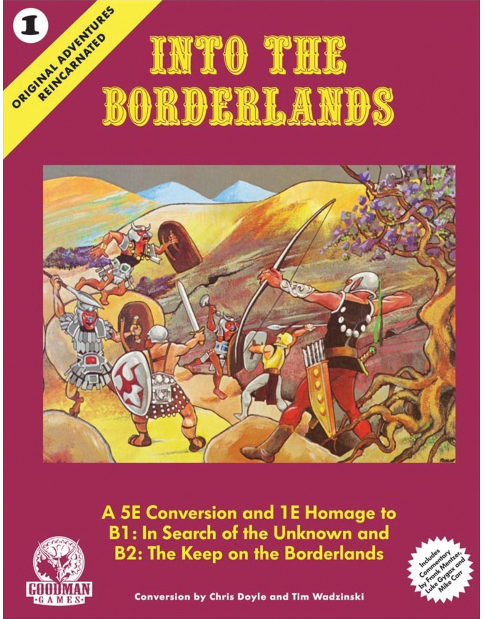 Goodman Games 5E: OAR 1: Into the Borderlands (HC)