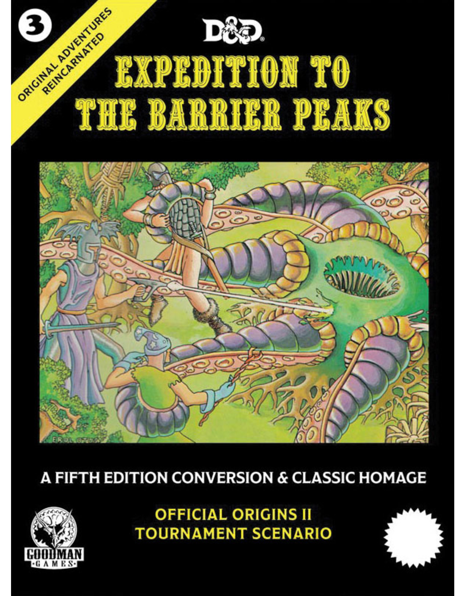 Goodman Games 5E: OAR #3: Expedition to the Barrier Peaks
