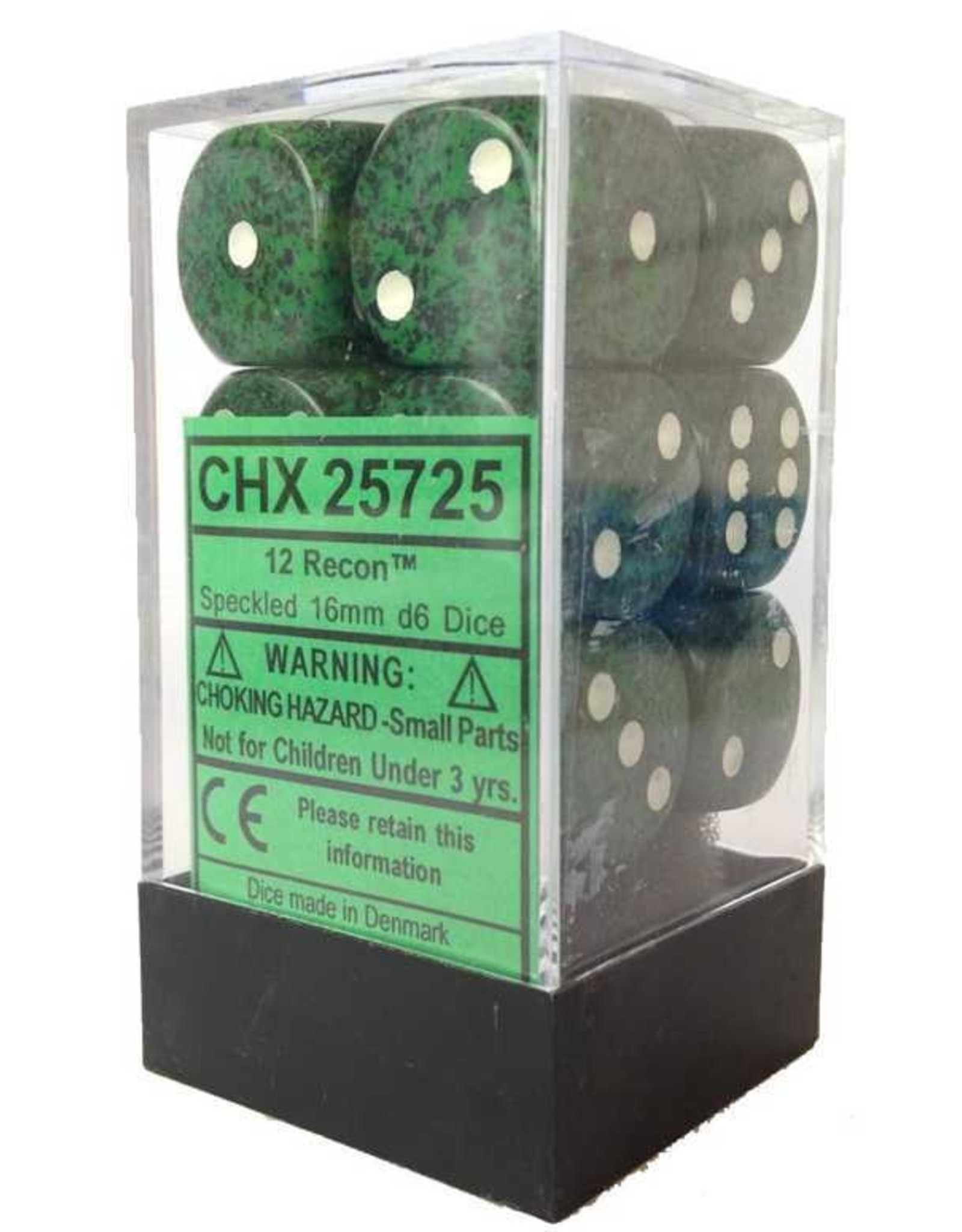 Chessex Recon 16mm D6