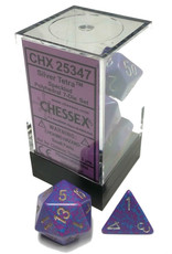 Chessex 7-Set Polyhedral Silver Tetra