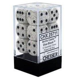 Chessex Arctic Camo D6