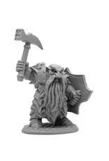 Reaper Bones Black: Enlarged Dark Dwarf Smiter