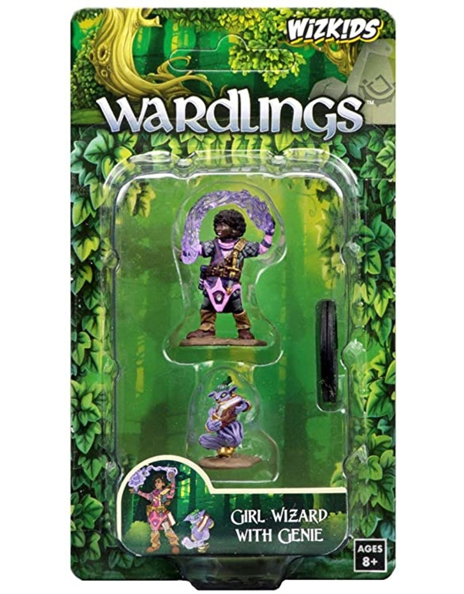 Wiz Kids Wardlings: Girl Wizard & Genie