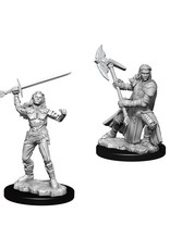 Wiz Kids D&D NMU: Female Half-Orc Fighter W7